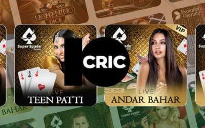 Live Teen Patti and Andar Bahar Now Available on 10CRIC!
