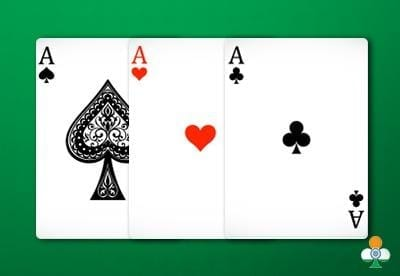 teen patti hand 3 aces