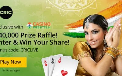 Join the 10CRIC Raffle via CasinoWebsites
