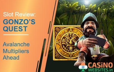 Gonzo's Quest logo game banner