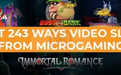 Best 243 Ways Slots from Microgaming