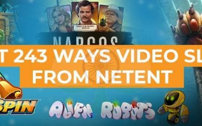 Best 243 Ways Slots from NetEnt