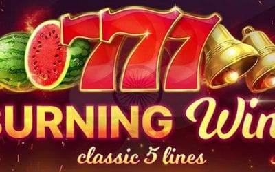 Burning Wins: Classic 5 Lines Slot Review