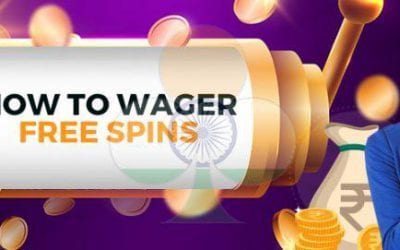 How to wager free spins