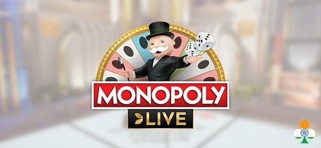 Monopoly Live in evolution gaming casinos banner