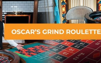 Oscar's Grind Roulette Strategy
