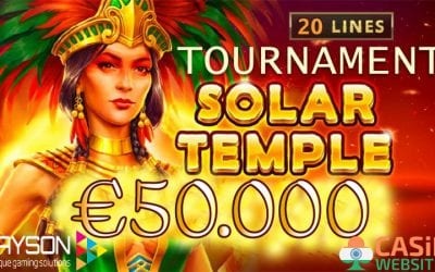 Playson Solar Temple €50k Tournament