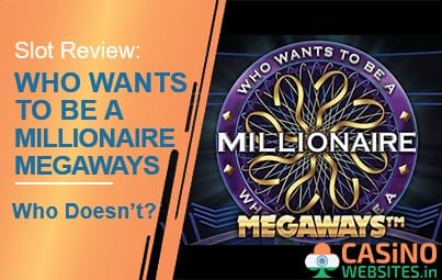 Who Wants To Be A Millionaire MegaWays slot review banner