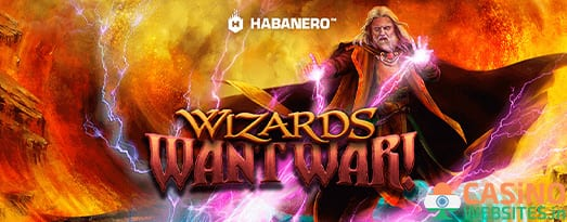 Wizards Want War! slot review