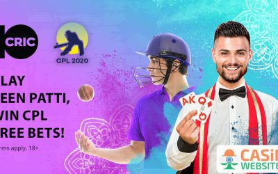 Teen Patti CPL 2020 Special at 10Cric Casino