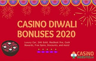 top diwali bonuses indian online casino
