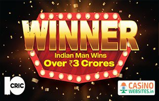 10Cric Casino Crowns Indian Winner of ₹3 Crores Slot King