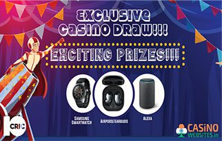10Cric's Exclusive Casino Draw 2021
